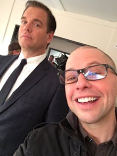 Michael Weatherly and Jon Cryer