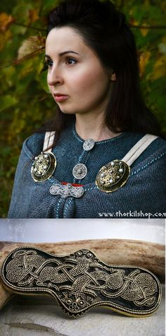 Viking replica of a equal-armed brooch with granulation, of very unique archaeological find from Bryansk . Such brooches were worn between tortoise brooches and slightly below them and used for cloak fastening. https://www.etsy.com/uk/listing/267630998/viking-brooch-equal-armed-brooch-with?ref=related-7