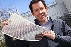 Aussie scientists print flexible solar panels