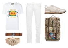 """Fasho"" by aintdatjulian on Polyvore featuring Gucci, Acne Studios, Valentino, Audemars Piguet, men's fashion and menswear"