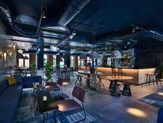 hotspots in Maastricht door Vera van Brainy Days - Roomed Day Room, Restaurant Lounge, Bird Houses, Amsterdam, Hospitality, Hotels, Doors, Building, Hot Spots
