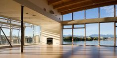 Event Hall | John M.S. Lecky UBC Boathouse | Richmond, BC Canada | Wedding and Event Venue | features windows on three walls for beautiful views!
