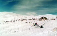 Voras ski resort Greece