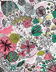 Doodle Flower by Michelle Nilson