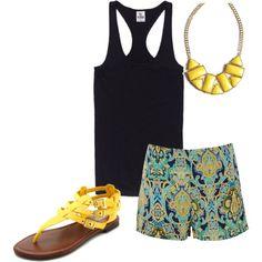 Pattern shorts !!!!!