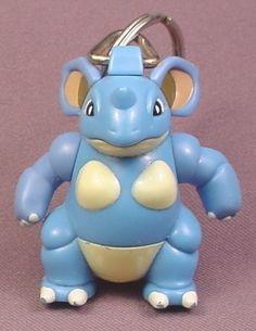"Burger King Pokemon Nidoqueen Keychain Figure, 2 3/8"" tall, 1999 Nintendo, Key Chain"