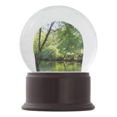 Oak Creek I in Sedona Arizona Nature Photography Snow Globe - diy cyo customize create your own personalize