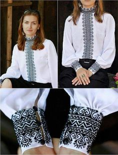 for this Tailer fit designer wear Iranian Women Fashion, Ethnic Fashion, Womens Fashion, Embroidery On Clothes, Embroidery Fashion, Mexican Fancy Dress, Bordado Popular, Palestinian Embroidery, Diy Clothes
