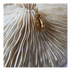 Vagina charm necklace via Columbine Smille, by Tuza Jewellery #atpatelier #atpatelierspaces #shapes