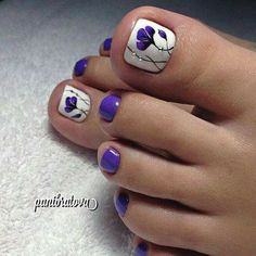 The Fundamentals of Toe Nail Designs Revealed Nail art is a revolution in the area of home services. Nail art is a fundamental portion of a manicure regimen. If you're using any form of nail art on your nails, you… Continue Reading → Pretty Toe Nails, Cute Toe Nails, Fancy Nails, Toe Nail Art, Purple Toe Nails, Purple Toes, Beach Toe Nails, Pretty Toes, Acrylic Nails