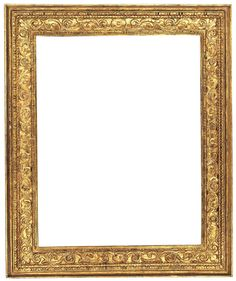 Cassetta frame, Carved and gilt poplar, Italian, Veneto