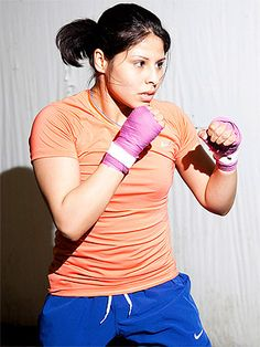Boxing is a kick-@ss workout and Marlen Esparza kicks @ss!!!