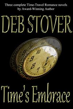 Time's Embrace: Three Time-Travel Romance Novels by Deb Stover.  These classic romance stories are a tour de force adventure through love and history as only Deb Stover can create. Bonus: an original short story sequel to fan favorite Another Dawn is included. And, all-new introductions tell the genesis of each story!   http://www.amazon.com/dp/B00LH8XZ3I/ref=cm_sw_r_pi_dp_KOyfub00BZQEB