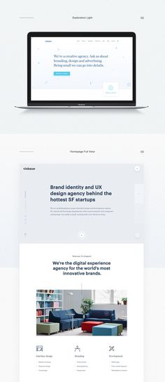 Agency Website Design Exploration on Behance
