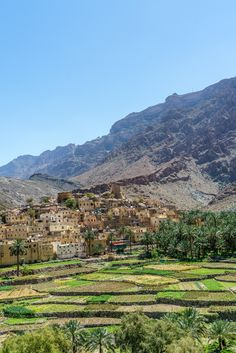 Wadi Bani Awf Oman