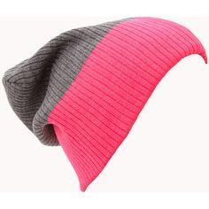 FOREVER 21 Classic Colorblocked Beanie