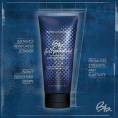 """New Full Potential Hair Preserving Conditioner from #Bumbleandbumble act's as a """"liquid bandage"""" on strands. #BbFullPotential #Fullhair #Stronghair #LongHair #Conditioner #Newproducts"""