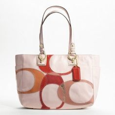 Love this Coach bag.