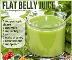 A Little Bit of This, That, and Everything: Flat Belly Juice