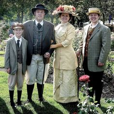 "TBT!! I'm feeling very nostalgic today and wanted to share an image from almost 4.5 years ago. I am so blessed that my family indulges me and let's me dress them up and attends events with me! This was at ""The Museum Comes to Life"" in Boise. We went as a 1912 family. What great men I have in my life!! #historicalfashion #historicalcostume #1912 #1912fashion #titanicfashion #themuseumcomestolife #lovemyfamily"