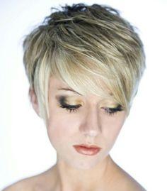 Pixie hair cut