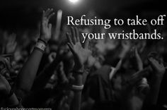 Seriously hardest thing to do! Its so sad!! Lol.  Or when the write on your hand to show you're a minor i dont like washing it off