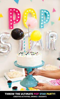 70 Trendy Birthday Cake For Teens Music Party Ideas - Party Ideen Music Theme Birthday, Dance Party Birthday, New Birthday Cake, Birthday Cakes For Teens, Music Party, Teen Birthday, Birthday Cake Toppers, Birthday Celebration, Birthday Parties