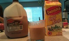 Chog = chocolate egg nog its an amazing thing