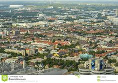 Munich Cityscape, Bavaria, Germany - Download From Over 37 Million High Quality Stock Photos, Images, Vectors. Sign up for FREE today. Image: 61426685