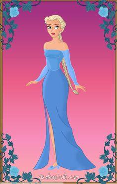 Queen Elsa by on DeviantArt Drawing Designs, Designs To Draw, Fashion Illustration Sketches, Fashion Sketches, Art Nouveau Disney, Princes Dress, Azalea Dress Up, Disney Cards, Doll Divine