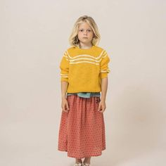 BOBO CHOSES Dobby Spot Midi Skirt