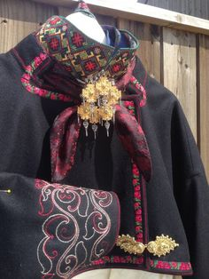 Folk Costume, Costumes, Strange Flowers, Best Mother, Ethnic Fashion, Fashion History, Plaid Scarf, Alexander Mcqueen Scarf, Norway