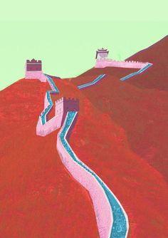 Great Paper Walls by O Silva , via Behance