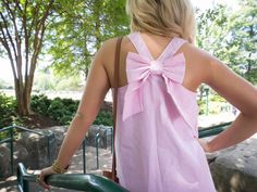 Pink Bow Top by Srathardforlife