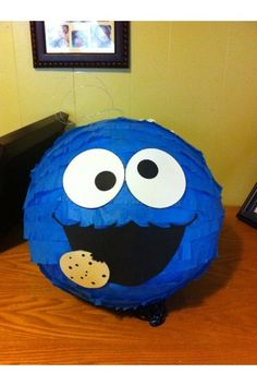Cookie Monster Sesame Street Pinata Birthday Party Guaranteed ON Time Shipping | eBay