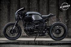 Ottonero Cafe Racer: 'Shadowboxer' Nine T / K-Speed Customs
