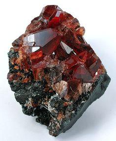 Rhodochrosite - - Archived N'Chwaning II Mine, N'Chwaning Mines, Kuruman, Kalahari manganese fields, Northern Cape Province, South Africa