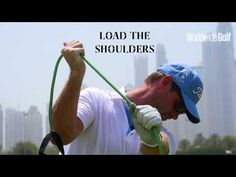 Amazingly simple indoor drill for golfers - YouTube