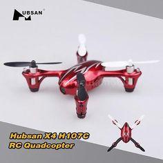 Mode 1 Hubsan X4 H107C 2.4G 4CH RC RTF 2MP HD Camera Quadcopter +émetteur 14QL