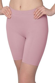 Jockey Women's Underwear Skimmies Wicking Slipshort, Pink… Women's Underwear, Boxer, Bermuda Shorts, Thighs, Exotic, Slim, Pink, Fashion, Moda