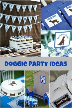Dog Themed Birthday Party Ideas www.spaceshipsandlaserbeams.com