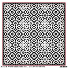 MOROCCAN TESSELLATIONS BLACK AND WHITE - Google Search