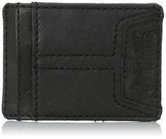 Levis Mens Matt Slim Front Pocket Wallet Black One Size *** Check out this great product. Note: It's an affiliate link to Amazon