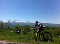 Spectacular views on the Col de Saraille, best climbed on a clear sunny day! Thanks to CMI Tours for the ride.