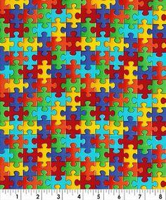 Bright Color Small Interlocking Puzzle Pieces Cotton Door Weiselect 950