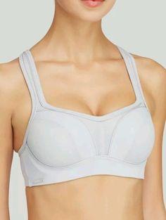 e9eb6b907c Chantelle womens bra underwire sports bra Gray Size 30F  Chantelle   SportsBras Underwire Sports Bras