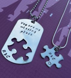 Deployment+Necklace++You+are+my+missing+by+StampedWithPassion,+$35.00