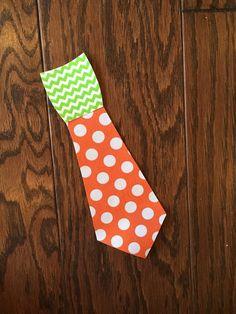 Carrot Tie Iron on Applique You Choose Fabric by EllaBaDellas