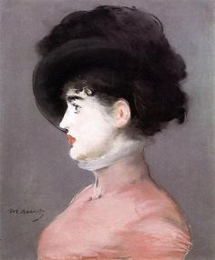 Portrait of Irma Brunner, 1880 - Édouard Manet. Realismo