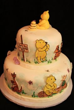 I would love this since it will be the baby's nursery theme! classic pooh decorations